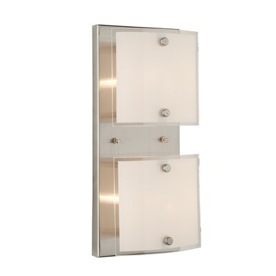 Artcraft Lighting Brentwood 2 Light Wall Sconce