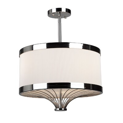 Artcraft Lighting Martinique Semi Flush Mount