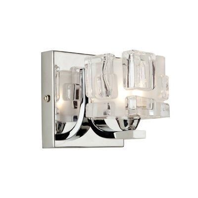 Artcraft Lighting Townsend One Light Wall Sconce in Polished chrome
