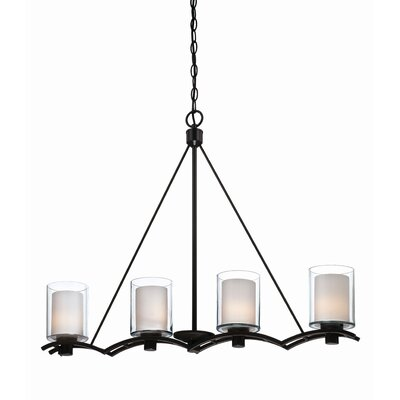 Andover 4 Light Kitchen Island Pendant