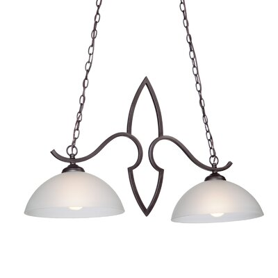 Harvard 2 Light Kitchen Island Pendant