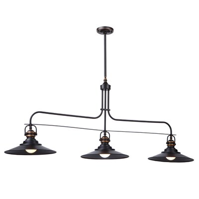 Heath 3 Light Kitchen Island Pendant