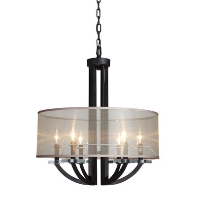 Artcraft Lighting Stowe 6 Light Foyer Pendant