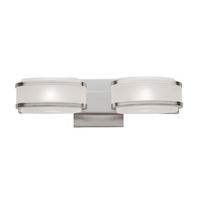 Artcraft Lighting Boulevard 2 Light Bath Vanity Light