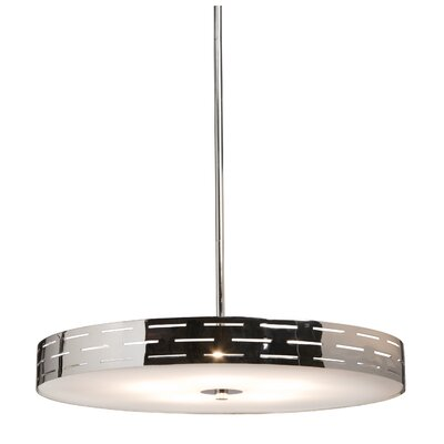 Artcraft Lighting Seattle 4 Light Drum Pendant