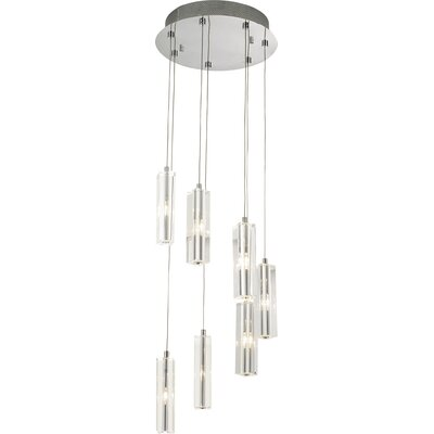 Artcraft Lighting Berkley 7 Light Crystal Chandelier
