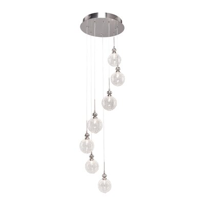 Artcraft Lighting Yale 7 Light Chandelier