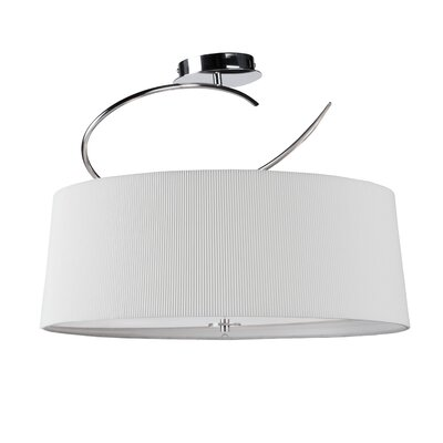 Artcraft Lighting Oslo 4 Light Semi Flush Mount