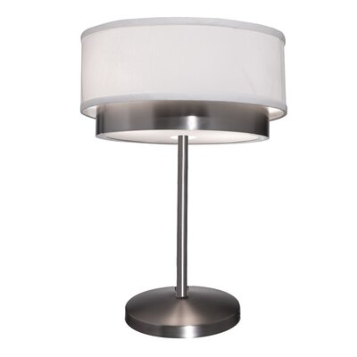 "Artcraft Lighting Scandia 19"" H Table Lamp with Drum Shade"