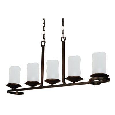 Artcraft Lighting Candlelight 5 Light Kitchen Island Pendant