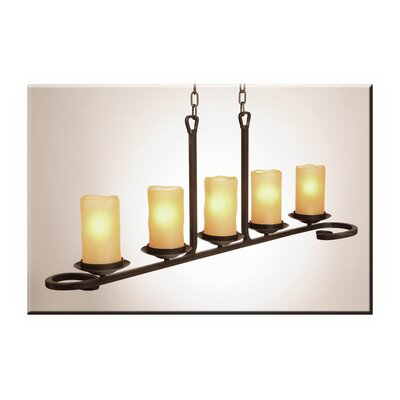 Candlelight 5 Light Kitchen Island Pendant