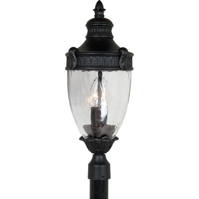 Artcraft Lighting Imperial 3 Light Outdoor Post Lantern