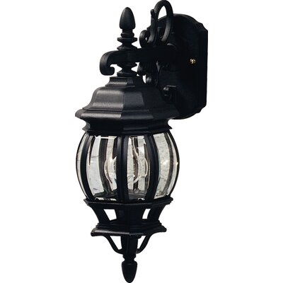 Artcraft Lighting Classico 1 Light Down Light Outdoor Wall Lantern