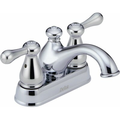 Leland Centerset Bathroom Faucet with Double Lever Handles - 2578LF-278
