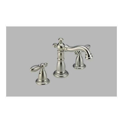 Delta Victorian Widespread Bathroom Faucet with Double Lever Handles