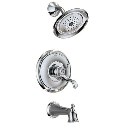 Delta Vessona Monitor 17 Series Tub and Shower Trim in Chrome