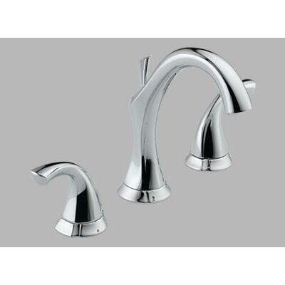 Delta Addison Widespread Bathroom Faucet with Double Lever Handles
