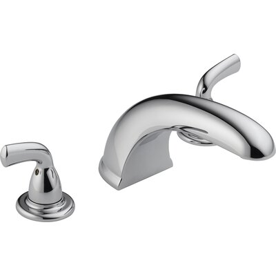 Delta Foundations Core-B Double Handle Deck Mount Roman Tub Faucet Trim