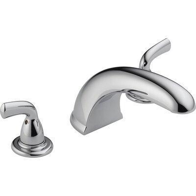 Delta Foundations Core-B Double Handle Deck Mount Roman Tub Faucet Trim