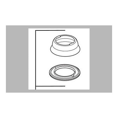 Delta Saxony Kitchen Escutcheon and Gasket