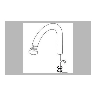 Delta Filter Faucet Spout Assembly
