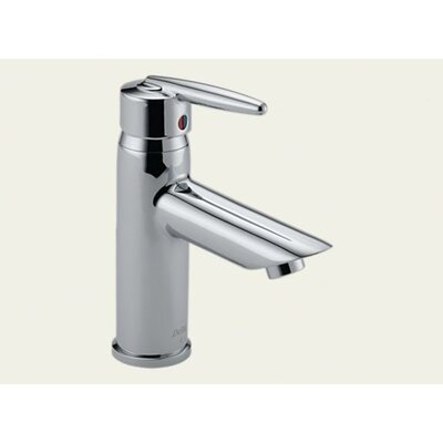 Delta Grail Single Hole Bathroom Faucet with Single Hole
