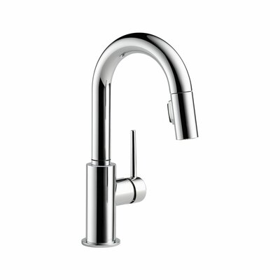 Delta Trinsic Single Handle Single Hole Pull-Down Kitchen Faucet
