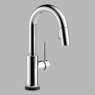 delta trinsic pullout spray touch bar prep faucet with