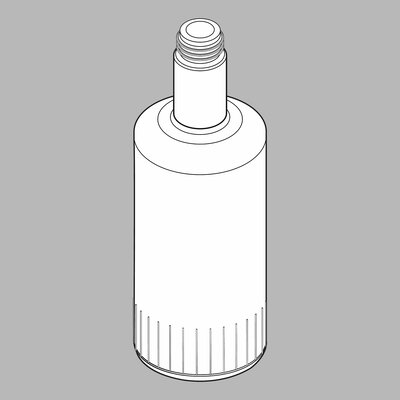 Delta Replacement Bottle for Soap or Lotion Dispenser