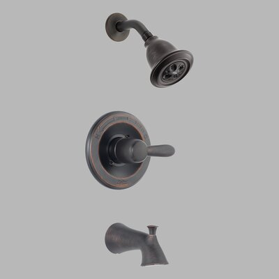 Delta H2Okinetic Lahara Diverter Tub and Shower Faucet Trim