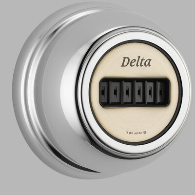 Delta Dual Control Body Spray Trim with H2O Kinetic Technology