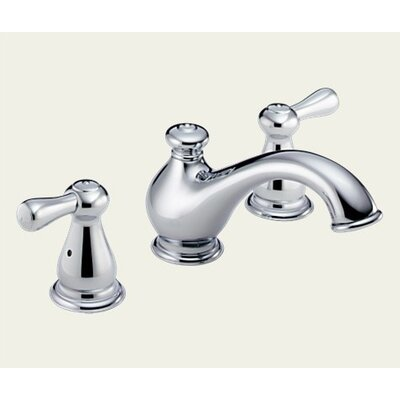 Delta Leland Double Handle Deck Mount Roman Tub Faucet Lever Handle