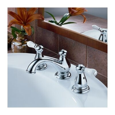 Delta Leland Widespread Bathroom Faucet with Double Lever Handles