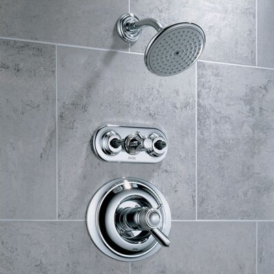 Delta Innovations Dual Control Jetted Shower Faucet Trim