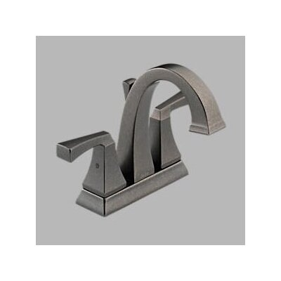 Delta Dryden Centerset Bathroom Sink Faucet with Double Lever Handles