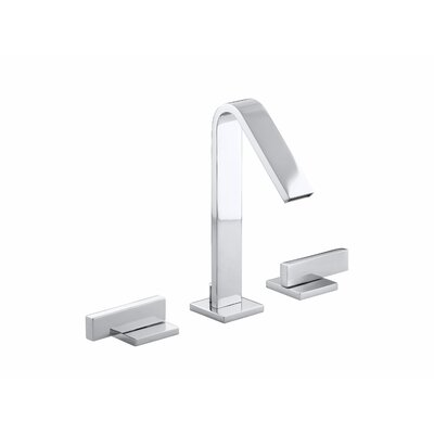 Kohler Loure Widespread Bathroom Faucet with Lever Handles