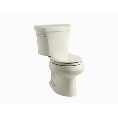 "Kohler Wellworth 1.28 GPF Two-Piece Round Toilet with 14"" Rough In and Insuliner"