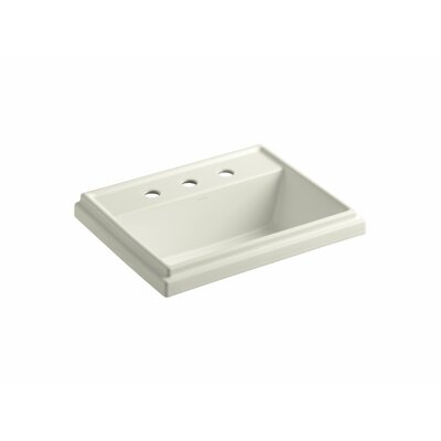 "Kohler Tresham Rectangle Self-Rimming Lavatory with 8"" Centers"