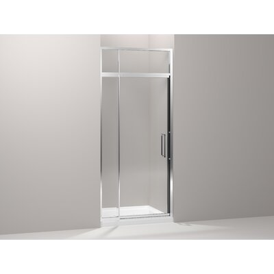 Kohler Lattis Pivot Shower Door with Sliding Steam Transom