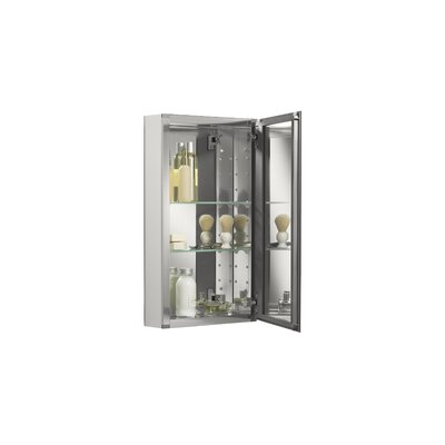 "Kohler 15"" x 26"" Surface Mounted Beveled Edge Medicine Cabinet"