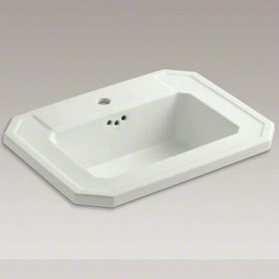 Kathryn Self-Rimming Lavatory with Single-Hole Drilling - 2325-1