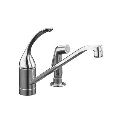 Coralais Single-Control Kitchen Faucet with 10