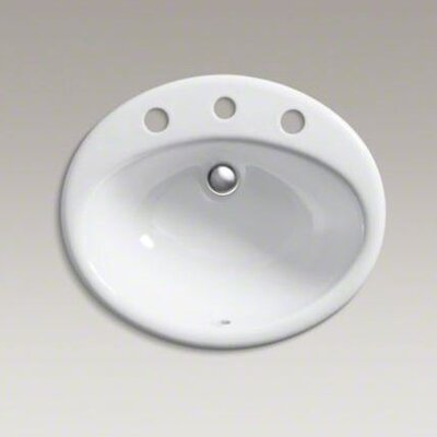 "Kohler Farmington Self-Rimming Lavatory with 8"" Centers"