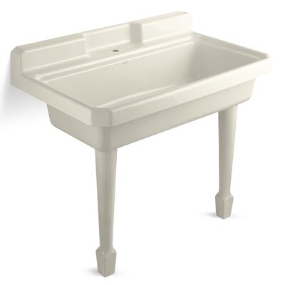 Harborview Self-Rimming Or Wall-Mount Utility Sink with Single-Hole Faucet Drilling On Center ...