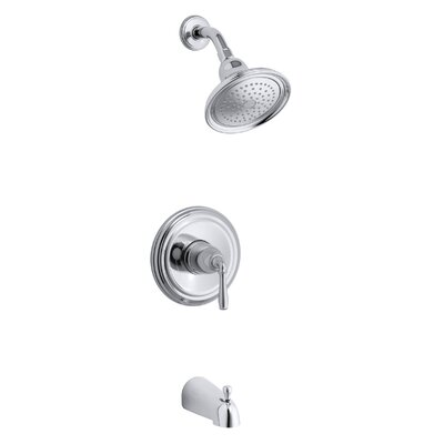 Kohler Devonshire Rite-Temp Pressure-Balancing Bath and Shower Faucet Trim, Valve Not Included
