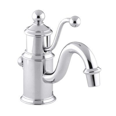 Kohler Antique Single-Hole Lavatory Faucet with Lever Handle