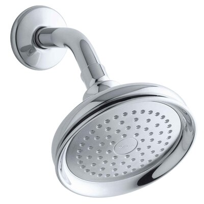 Kohler Fairfax 2.5 GPM Single-Function Wall-Mount Showerhead with Katalyst Spray