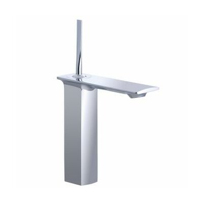 Stance Tall Single-Hole Bathroom Faucet with Single Lever Handle - 14761-4