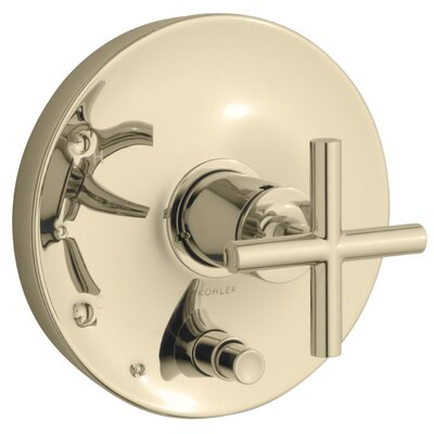 Kohler Purist Rite-Temp Pressure-Balancing Valve Trim with Cross Handles