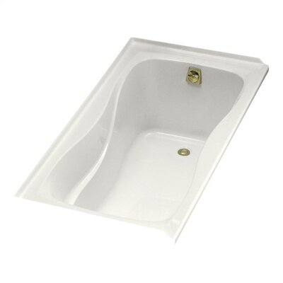 "Kohler Hourglass 60"" X 32"" Alcove Bath with Integral Tile Flange and Right-Hand Drain"